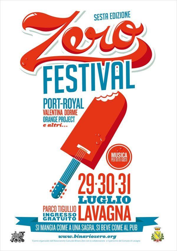 Zero Festival - Poster Design