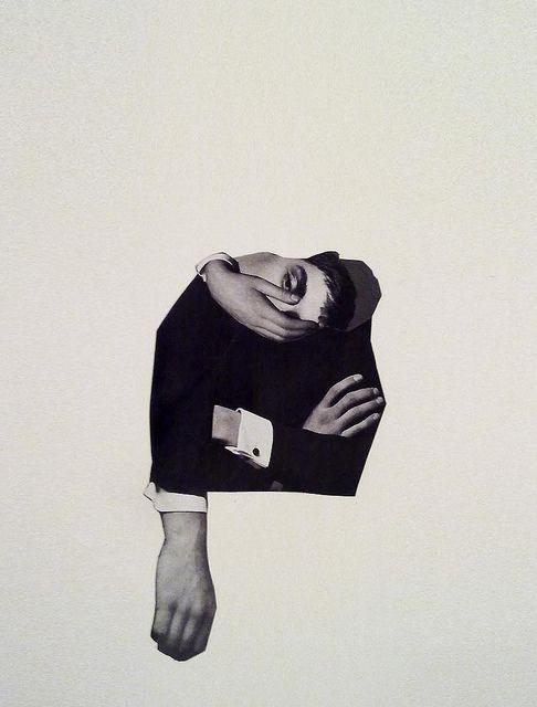 Gemma Anton / contorsion / déformation / Noir et blanc / Black and White / Art