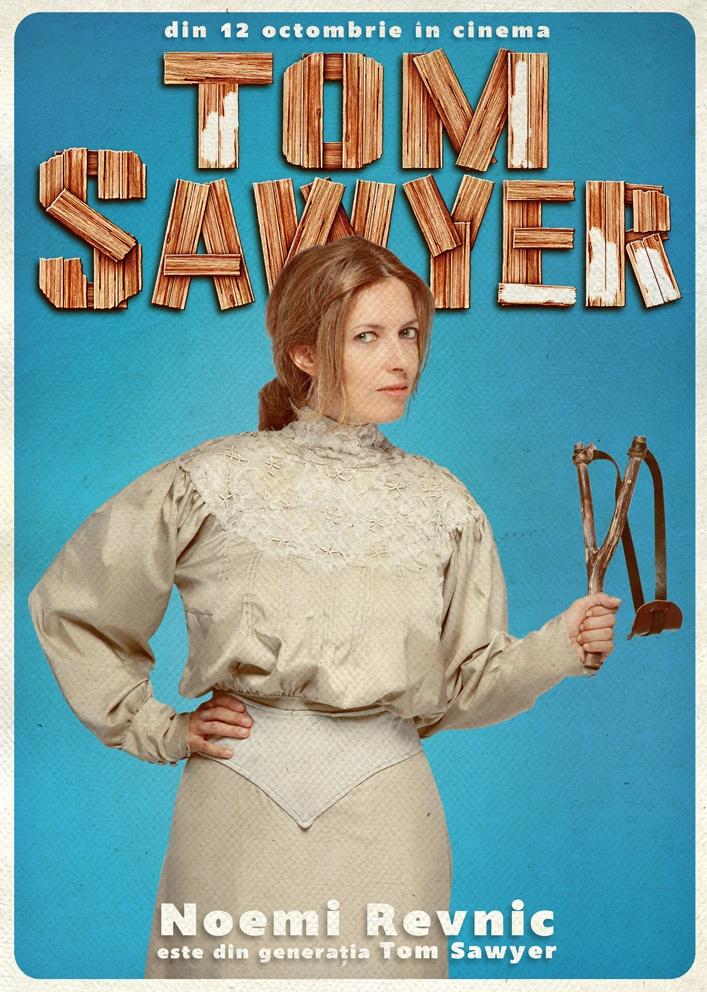 Noemi Revnic se alătură campaniei Generația Tom Sawyer!