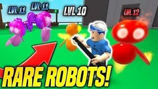 Getting Rare Robot Pets In Robot Simulator Insane Roblox