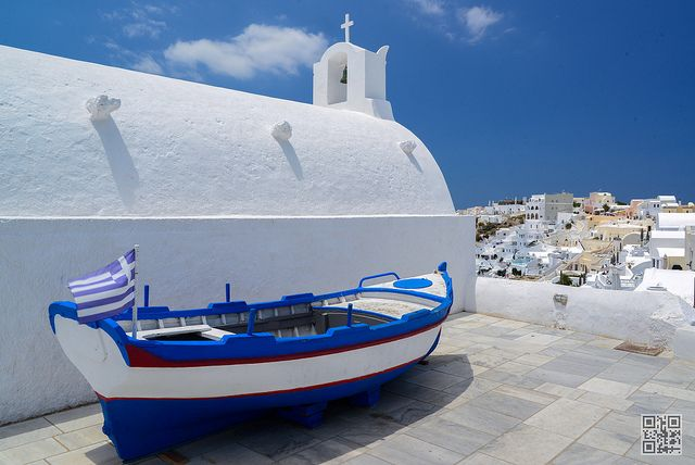 Oia boat | Flickr - Photo Sharing!