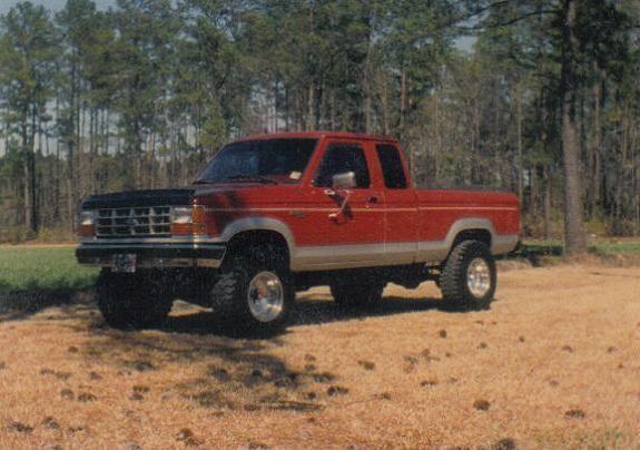 Bradley's 1989 Extended Cab Ranger 4x4
