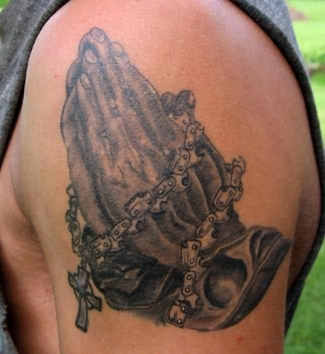 I want to use the chain in a tattoo for my father