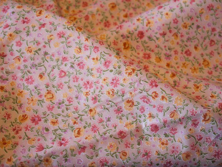 No. 84: Florals on peach.