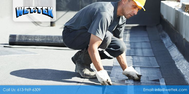 Wet Tek can help you with your #WaterproofingProjects. Talk to our experts now to know more about our #WaterproofingSystem. Call us at 613-969-6309.