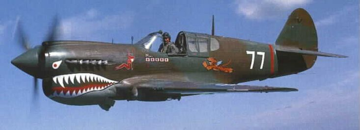 Flying Tigers. These were first used against the Japanese ...