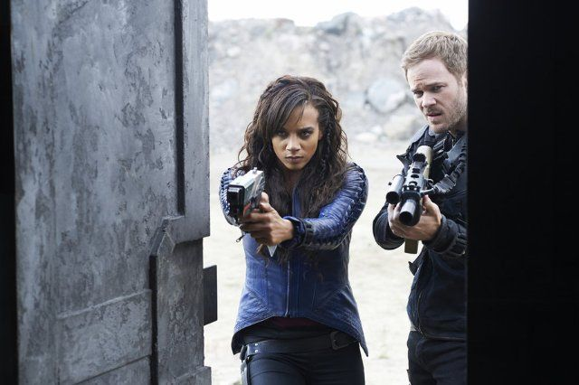 Killjoys (TV Series 2015– ) photos, including production stills, premiere photos and other event photos, publicity photos, behind-the-scenes, and more.
