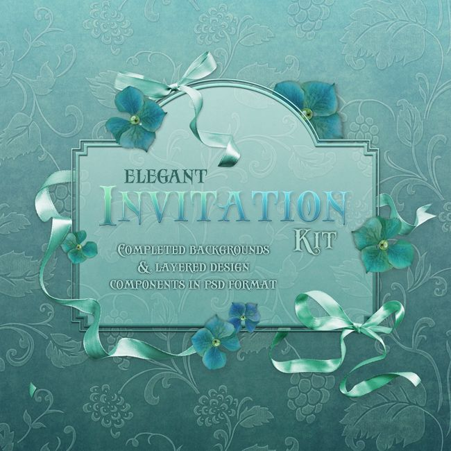 "Jaguarwoman's ""Elegant Invitation Kit"""