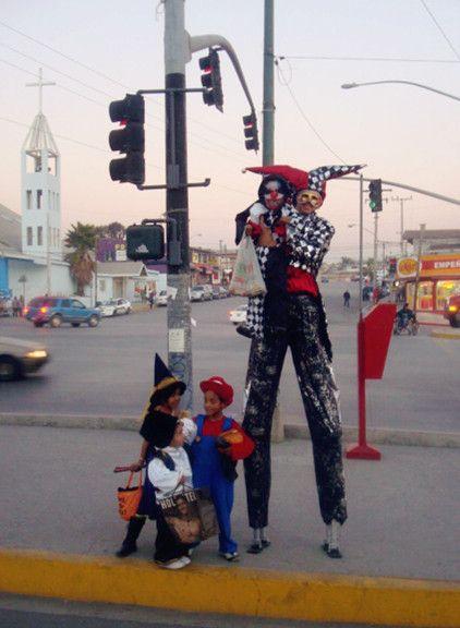 Zanqueros en Tijuana