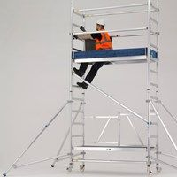 Introducing the New Reachmaster Mobile Scaffold Tower from Zarges