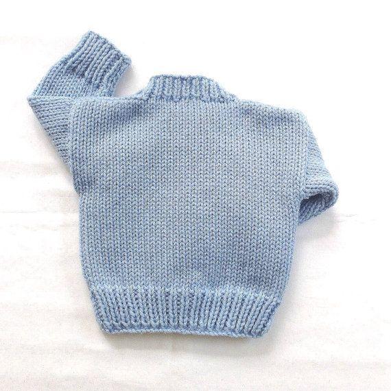 Cardigan de niño del bebé  0 a 6 meses  bebé suéter de punto