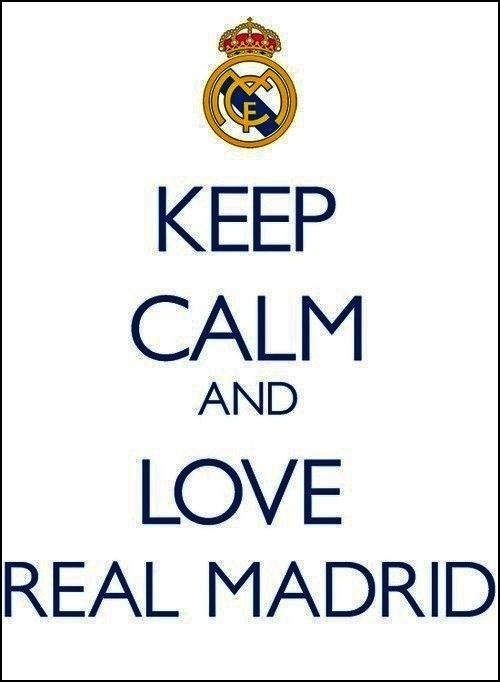 Love El Real Madrid