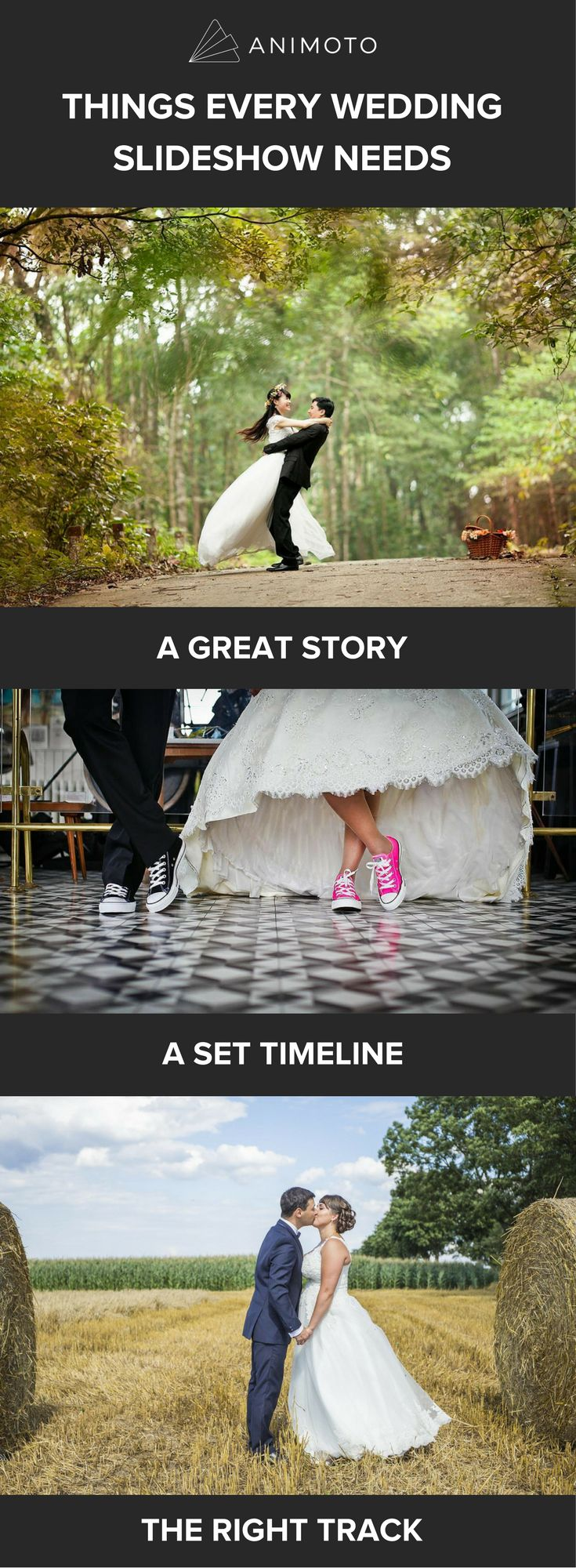 A wedding slideshow is a simple, elegant way to share your story with the people who mean the most to you. To help you tell your own love story, we've put together a guide that'll take you through making a wedding slideshow with music, step by step.