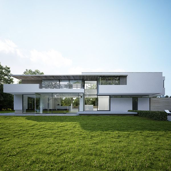 Project Lochem   Maas Architects by George Nijland, via Behance