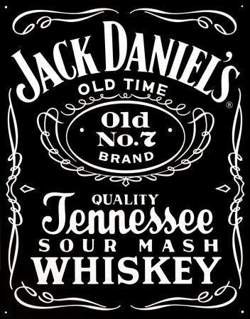 up close jack daniel's logo