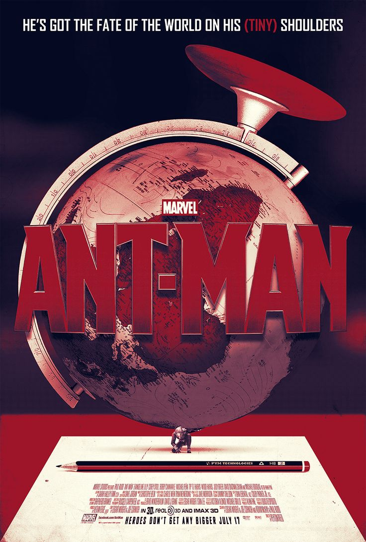 ANT-MAN POSTER — websitesarelovely