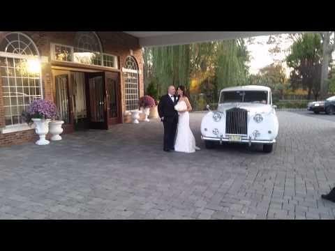 Action limo Rolls Royce NJ Wedding – YouTube