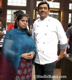 With Chef, The Sanjeev Kapoor :-)