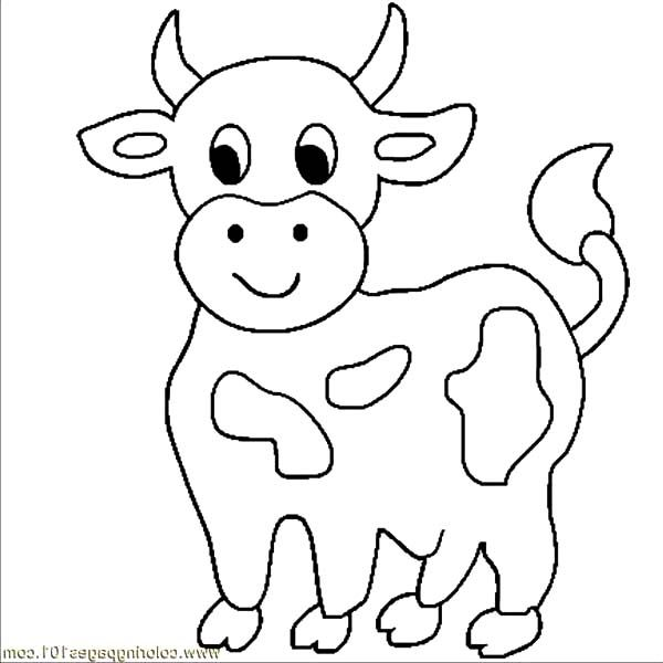 Cows Little Cows Coloring Pages