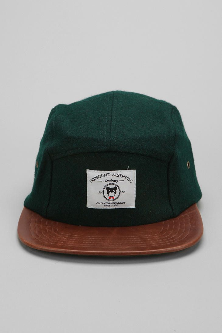 Profound Aesthetic The League Veteran Wool 5-Panel Hat #urbanoutfitters