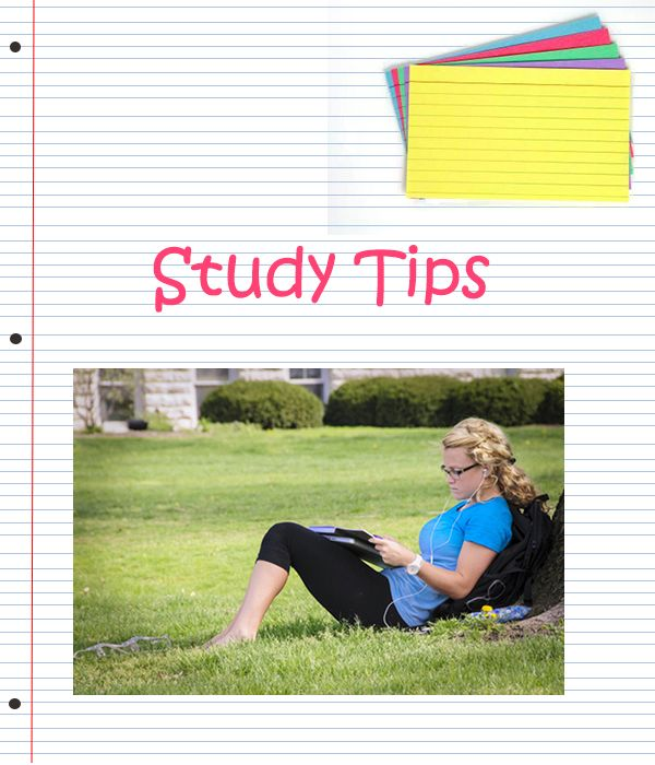 School's back in session! Here are some tips for studying and getting good grades