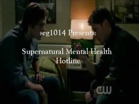 ▶ Supernatural Mental Health Hotline - YouTube