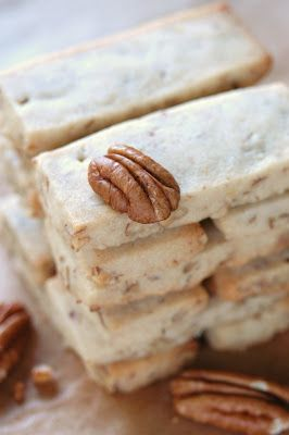 Maple Pecan Shortbread.... | SHORTBREAD | Pinterest