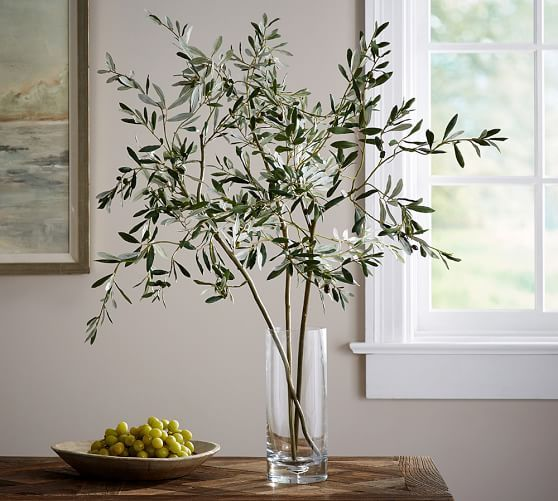 Faux Olive Branch | Pottery Barn