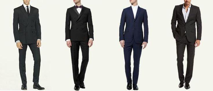 Свадебные мужские костюмы без галстуков