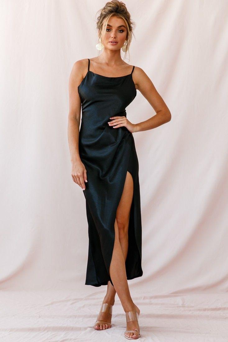 14++ Satin cowl neck dress ideas in 2021