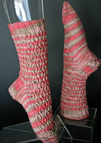 Ravelry: Koi Socks from The Koi Collection pattern by Terry L. Ross