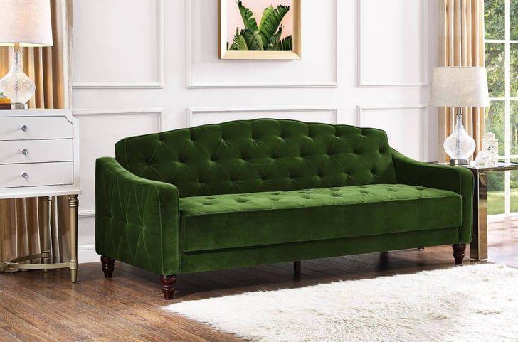 Novogratz Vintage Tufted Sofa Sleeper Ii Best Sofa Vintage Sofa