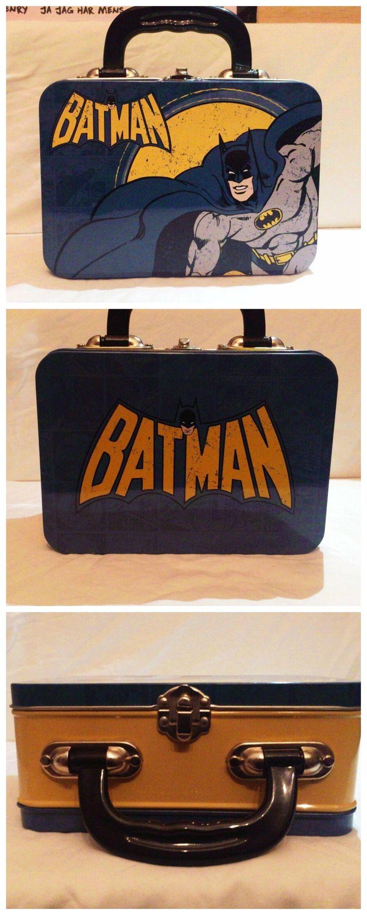 Retro Batman lunch box