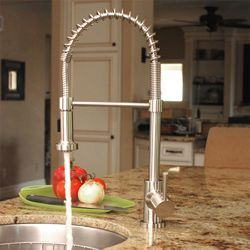 170 best images about kitchen remodel with cherry cabinets for Craftsman style kitchen faucets