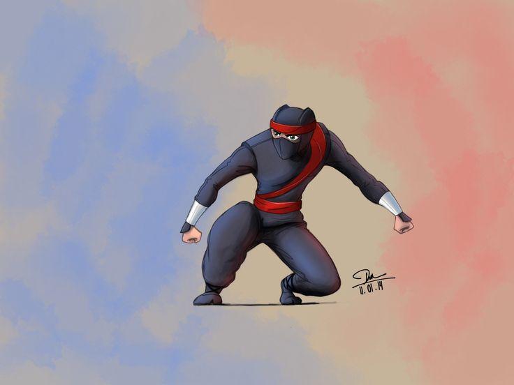 Clumsy Ninja Fan Art Jan11.2014