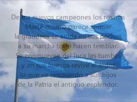 Himno Nacional Argentino (Completo con Letra)