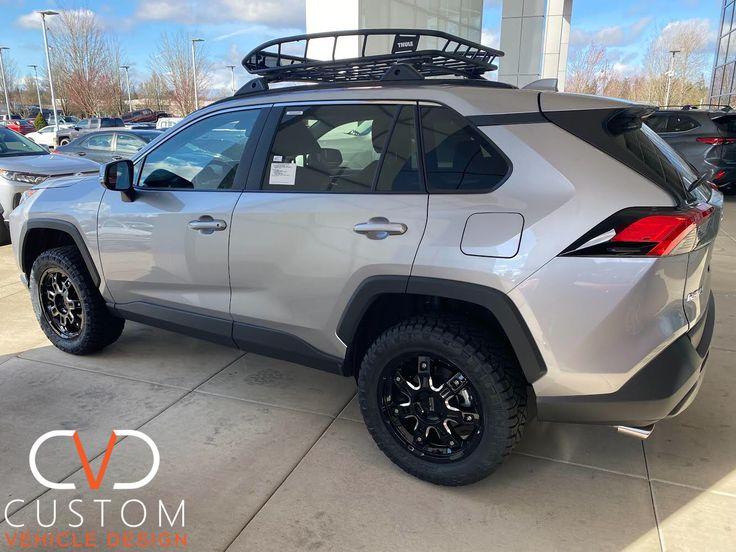 2020 Toyota RAV4 with Black Rhino wheels 2020 Toyota