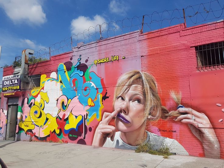 New York (USA) by Sipros. #bunshwikcollective#colorfullwalls#
