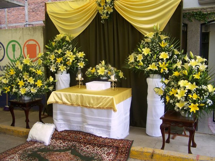 Altares para corpus christi buscar con google mi for Casa al dia decoracion