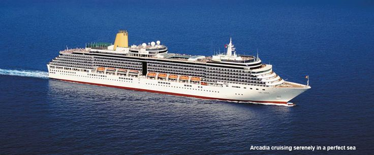 2015 Mar 25 Singapore to Southampton 29 Days, P&O Cruises - Arcadia - 4 STAR