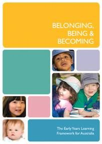 EYLF Belonging, Being and Becoming resource cover image