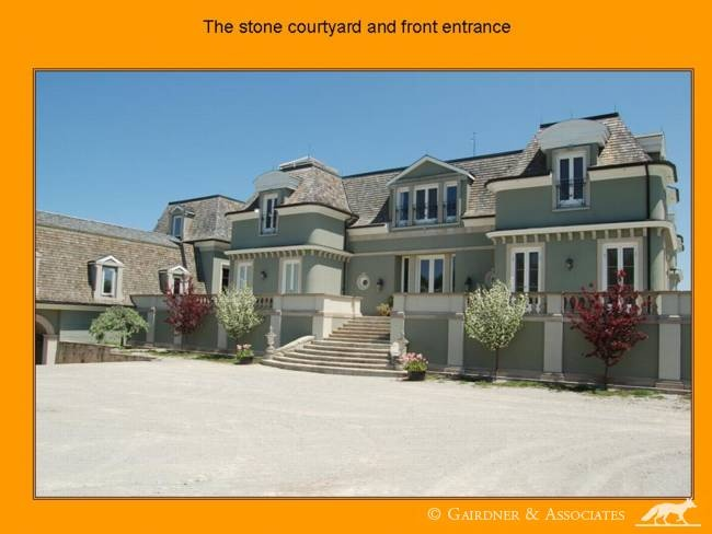 exterior stairs smooth stucco finish french country cottage
