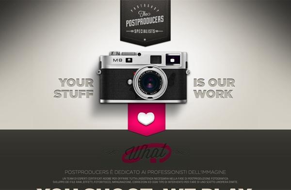 Postproducers by Nicola Cozzolino, via Behance