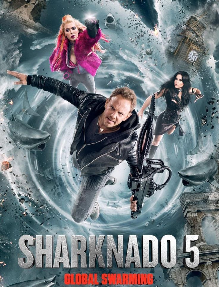 'Sharknado 5' Spins Into Theaters Tonight As Part of Thursday Nights at the Asylum - Bloody Disgusting