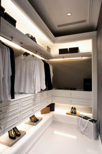 Best 25 Closet Lighting Ideas On Pinterest Walking Closet Master Bedroom Closet And Led