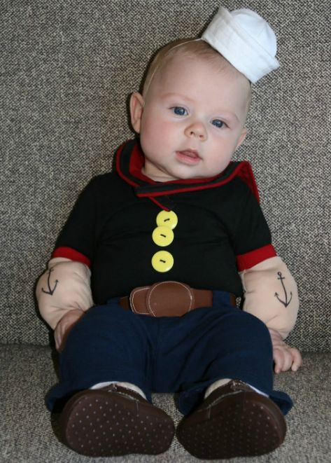 Baby Popeye  ADORABLE!!!
