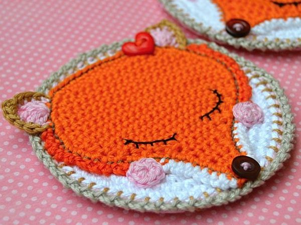 17 best vosjes images on pinterest crochet fox coaster dt1010fo