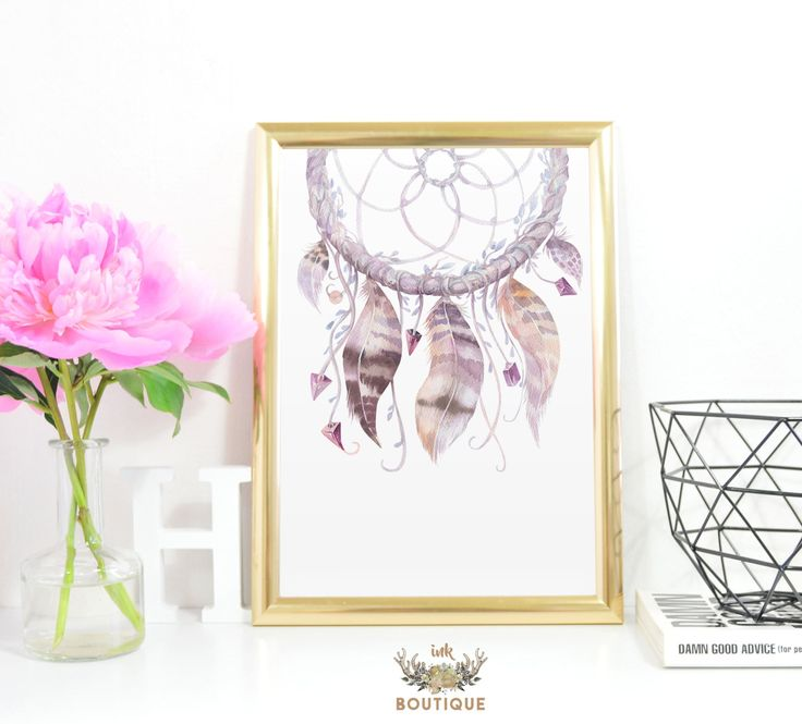 Dreamcatcher Print A4 Instant Download Tribal Decor Dreamcatcher Printable Art Tribal Nursery Art Native Decor Feather Southwestern Decor by InkBoutiqueDesign on Etsy