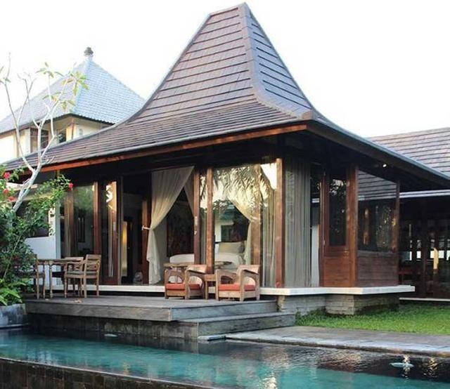 5 Contoh Penerapan Rumah Joglo Di Hunian Modern Mewah Dan Antik Desain Depan Rumah Arsitektur Rumah