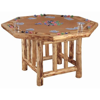 "Rush Creek 52"" Player Octagon Poker Table"
